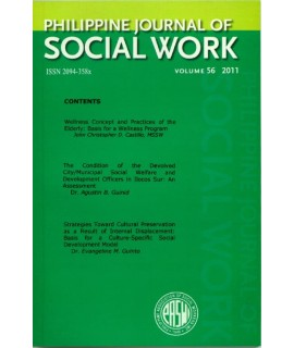Philippine Journal of Social Work - Delayed Publication
