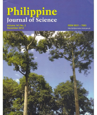 Philippine Journal of Science - Delayed Publication