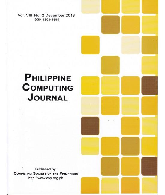 Philippine Computing Journal