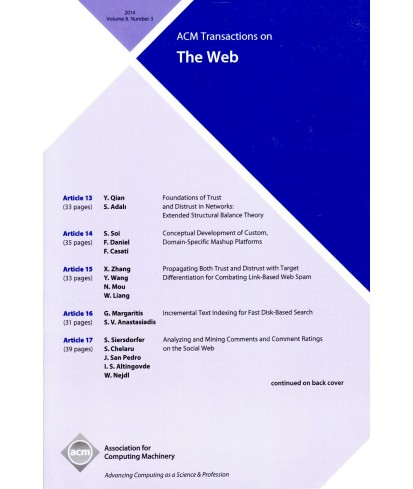 Transactions on the Web