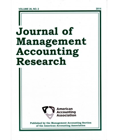 Journal of Management Accounting Research