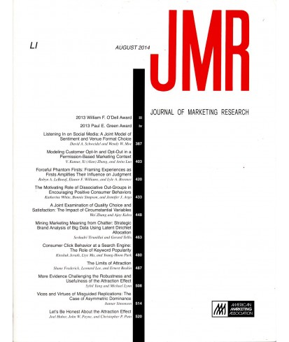 Journal of Marketing Research