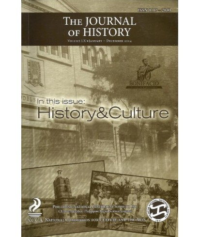 Philippine Journal of History - Delayed Publication