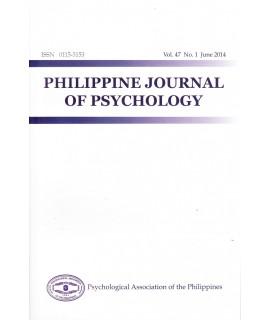 Philippine Journal of Psychology - Delayed Publication