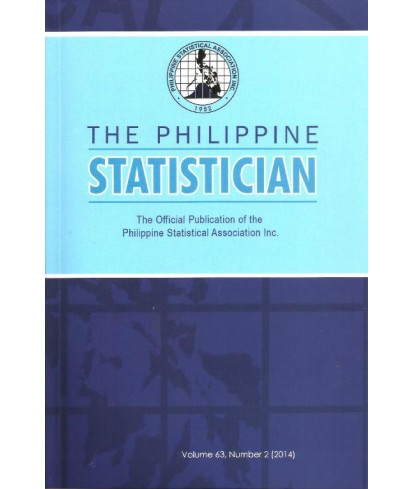 Philippine Statistician - Delayed Publication