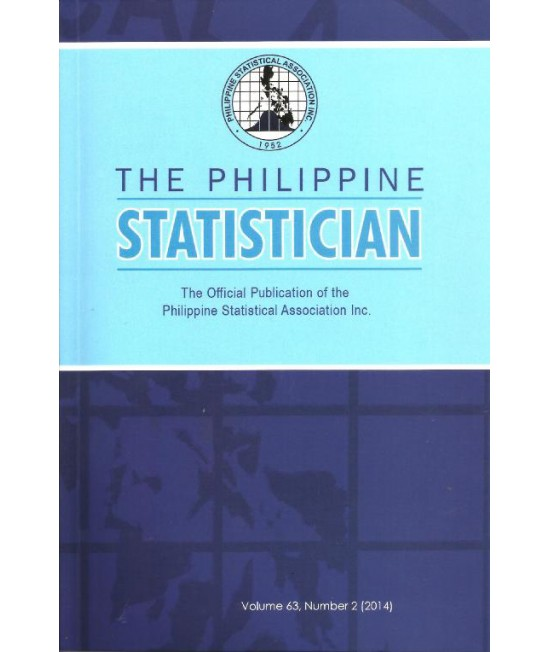Philippine Statistician - Delayed Publication