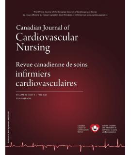 Canadian Journal of Cardiovascular Nursing