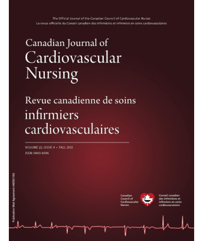 Canadian Journal of Cardiovascular Nursing