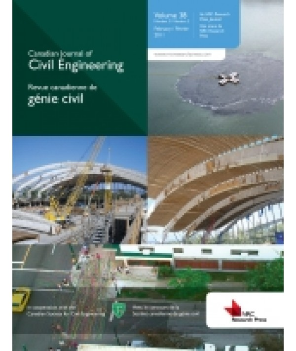 Canadian Journal of Civil Engineering - Philippine distributor of