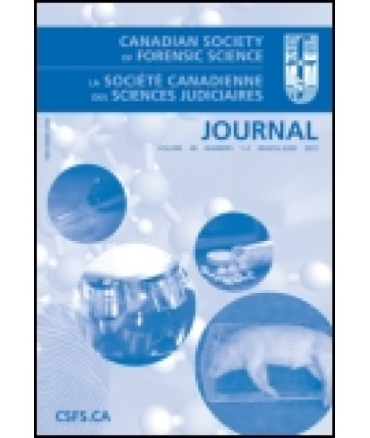 Canadian Society of Forensic Science Journal