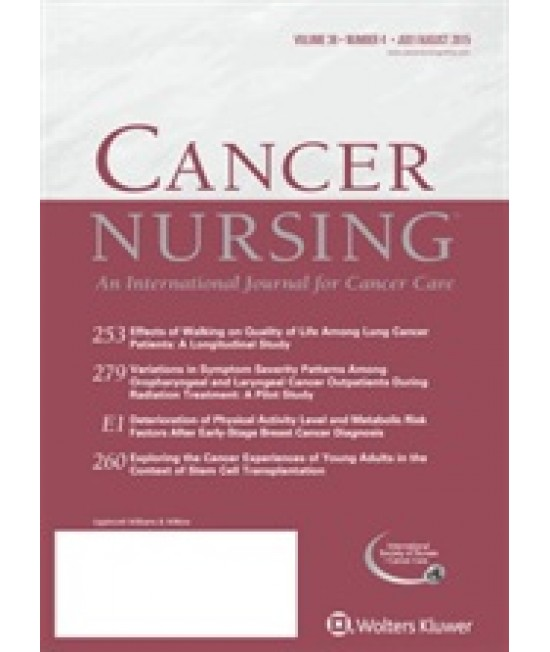 Cancer Nursing: An International Journal of Cancer Care