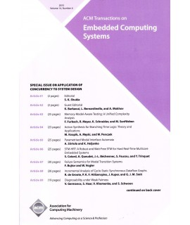 Transactions on Embedded Computing Systems