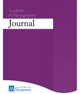 Academy of Management Journal