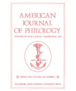 American Journal of Philology