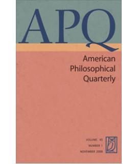 American Philosophical Quarterly