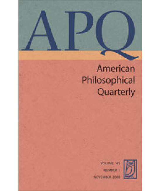 American Philosophical Quarterly