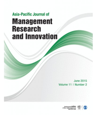 Asia-Pacific Journal of Management Research and Innovation