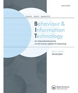 Behavior and Information Technology