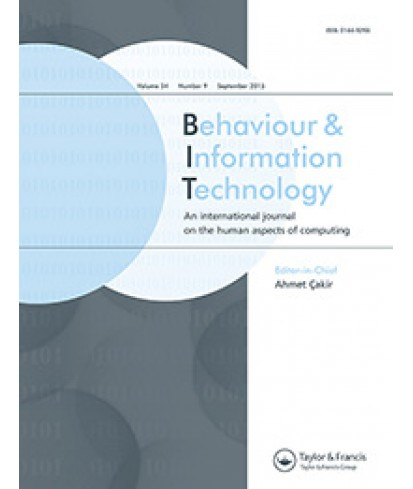 Behavior and Information Technology