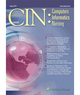 CIN: Computers, Informatics, Nursing