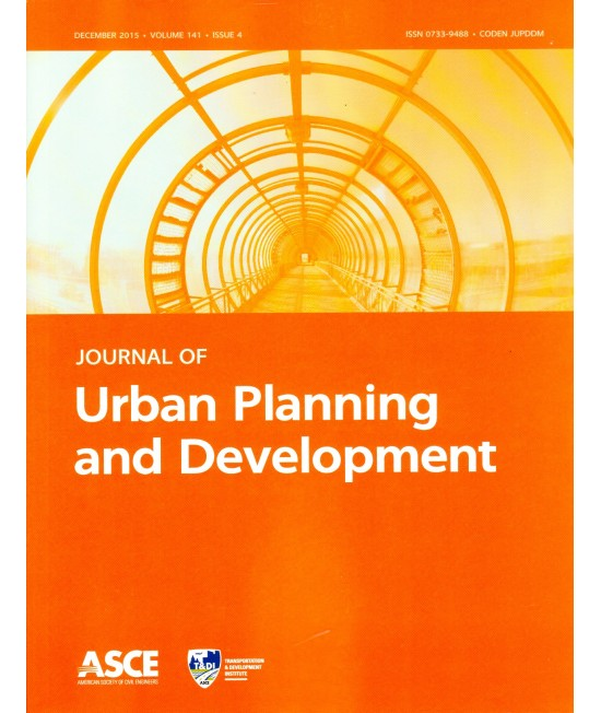 Journal of Urban Planning and Development