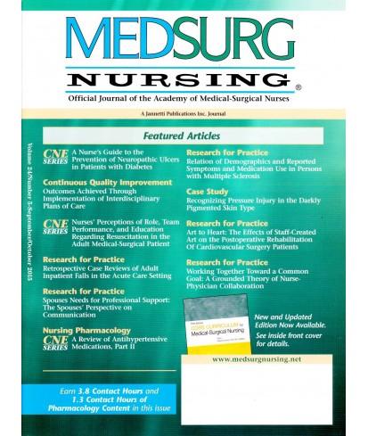 MEDSURG Nursing - Philippine distributor of magazines, books