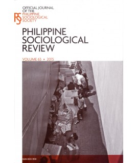 Philippine Sociological Review - Delayed Publication