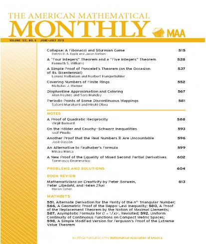 American Mathematical Monthly