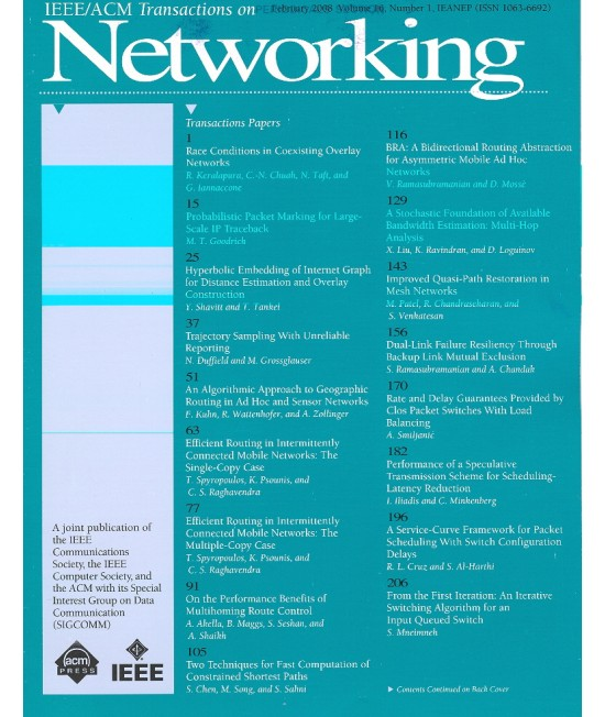IEEE/ACM Transactions on Networking