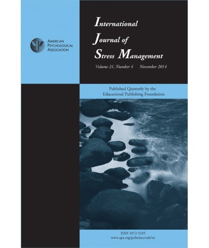 International Journal of Stress Management