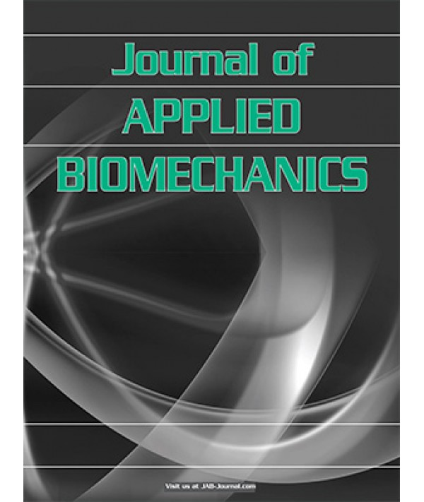 Image result for journal of applied biomechanics
