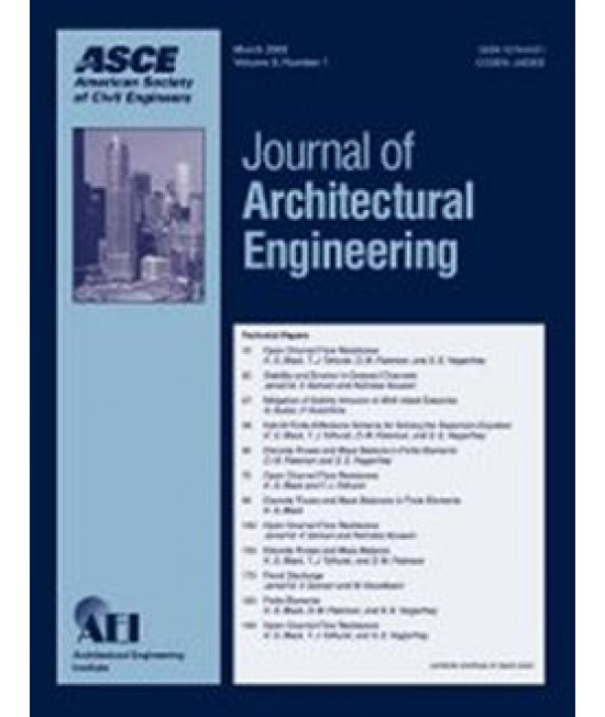 Journal of Architectural Engineering
