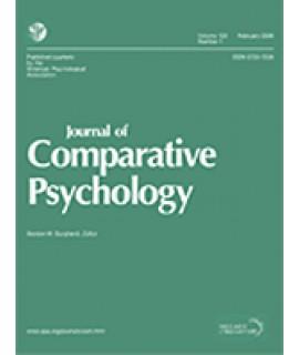 Journal of Comparative Psychology