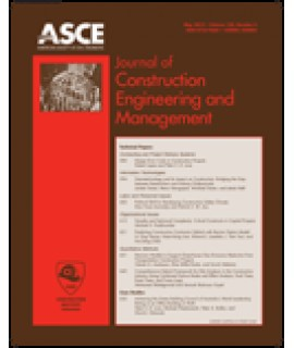 Journal of Construction Engineering and Management