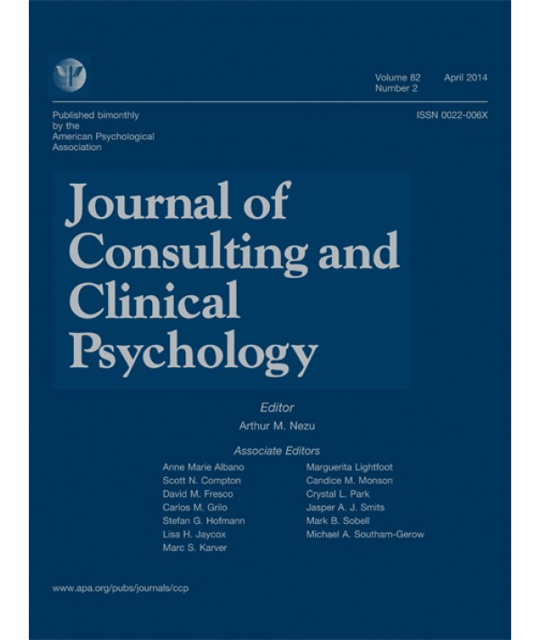Картинки по запросу Journal of Consulting and Clinical Psychology
