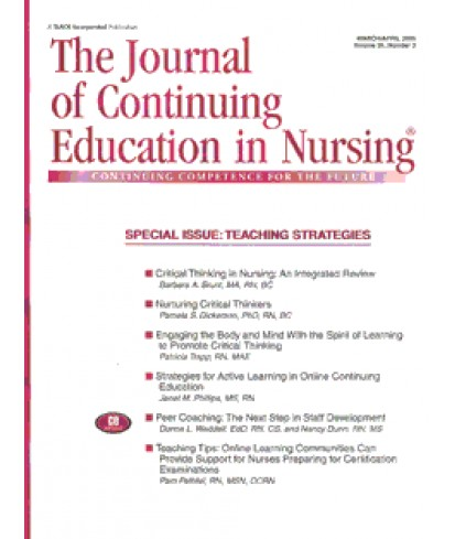 Journal of Continuing Education in Nursing