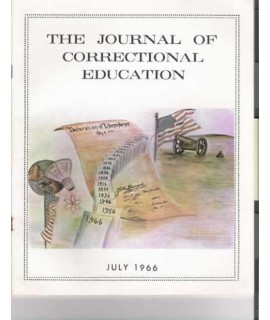 Journal of Correctional Education