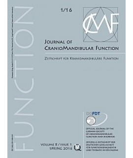 Journal of Craniomandibular Function