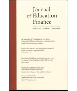 Journal of Education Finance