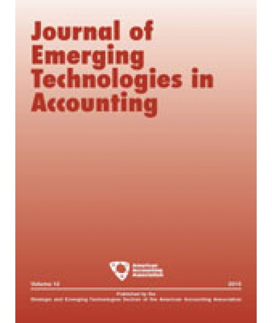 Journal of Emerging Technologies in Accounting