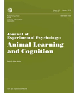 Journal of Experimental Psychology: Animal Learning and Cognition