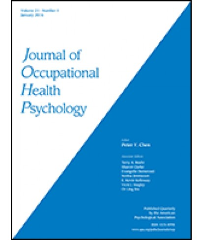 Journal of Occupational Health Psychology