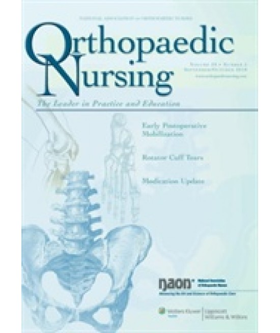Journal of Orthopaedic Nursing