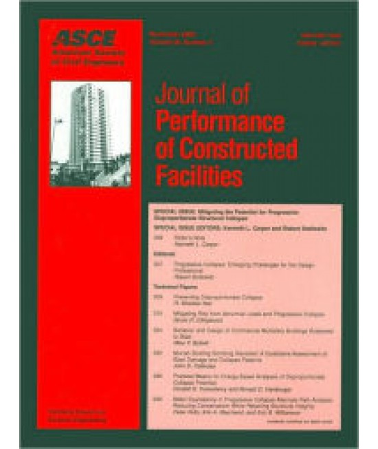 Journal of Performance of Constructed Facilities