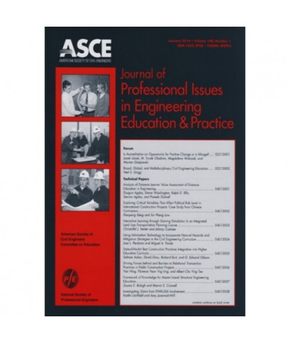 Journal of Professional Issues in Engineering Education and Practice