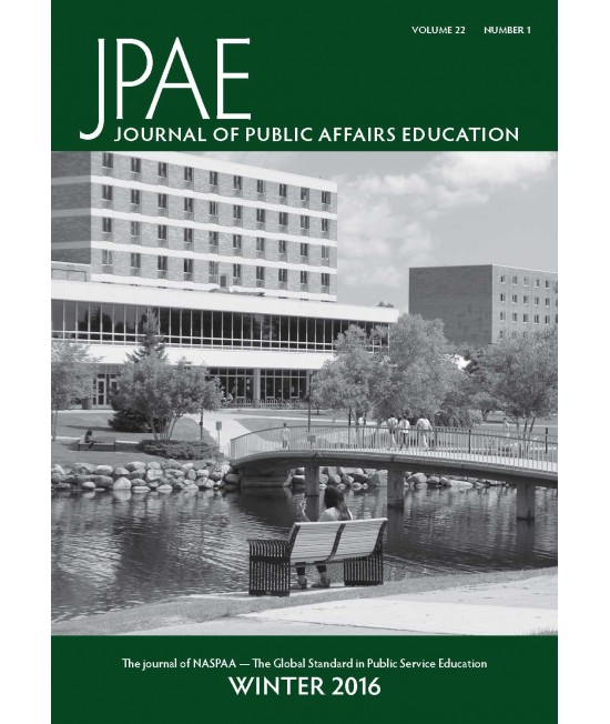 Journal of Public Affairs Education