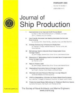 Journal of Ship Production