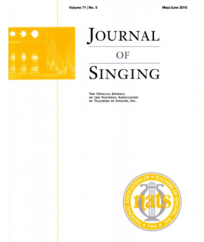 Journal of Singing