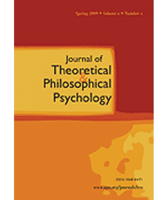 Journal of Theoretical and Philosophical Psychology