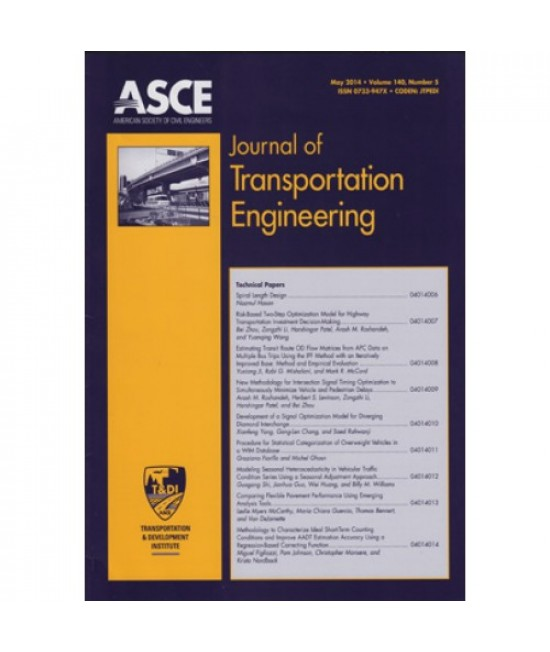 Journal of Transportation Engineering